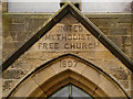 NY8383 : United Methodist Free Church by David Dixon