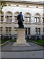 TQ2980 : Statue of Sir Henry Irving in Charing Cross Road by PAUL FARMER