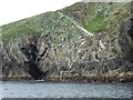 NA7246 : Flannan Isles: landing stage and path by Chris Downer