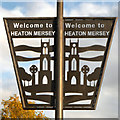 SJ8690 : Welcome to Heaton Mersey by David Dixon