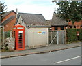 SO1739 : Phonebox and postbox, Glasbury by John Grayson