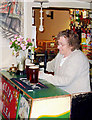 SJ7725 : The north bar at the Anchor Inn, High Offley by Roger  Kidd