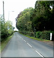 SO1839 : End of 30mph speed limit through Glasbury by John Grayson