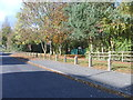SO9295 : Spring Vale Park Entrance by Gordon Griffiths