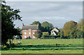 SJ6050 : Pasture and Baddiley Hall, Cheshire by Roger  Kidd