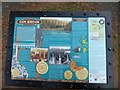 SX4970 : Information board about Gem Bridge by David Smith