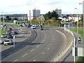 SZ0191 : A350 main road, Poole by Malc McDonald