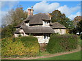 ST5578 : Thatched cottage, Blaise Hamlet, Bristol by Jaggery