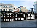 TQ3004 : Cabins, Churchill Square, Brighton by Paul Gillett