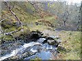 NH3803 : Footbridge across Black Burn, Glen Tarff, Inverness-shire by Claire Pegrum