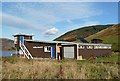 NT2420 : St Mary's Loch Sailing Club Premises by Walter Baxter