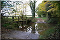 TL9837 : Ford at Homey Bridge, Polstead by John Walton