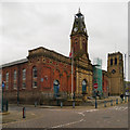 SJ9698 : Stalybridge, Victoria Market by David Dixon
