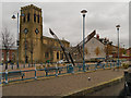 SJ9698 : Stalybridge, The Parish Church of Holy Trinity and Christ Church by David Dixon