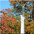 TQ8110 : Memorial in Alexandra Park by Oast House Archive