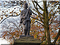 SJ9696 : The Soldier on Victoria Street War Memorial by David Dixon