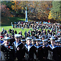 TQ8110 : Hastings Sea Cadet Corps, Remembrance Sunday by Oast House Archive