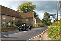 ST6517 : Old Car in Oborne by Des Blenkinsopp