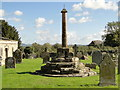 SO4967 : Churchyard cross, Orleton by Philip Pankhurst