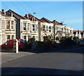 ST6071 : Houses at the eastern end of Beaconsfield Road, Knowle, Bristol by John Grayson