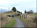 NZ1452 : Consett and Sunderland railway path by Oliver Dixon