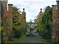 TF6928 : The walled garden near Sandringham House by Richard Humphrey