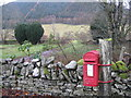 NT1126 : GR Post Box at the Crook Inn by M J Richardson