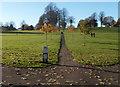ST5971 : Path through Victoria Park, Bristol by Jaggery