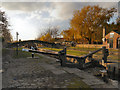 SJ9097 : Lock 18, Ashton canal by David Dixon