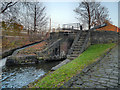 SJ8798 : Clayton Lock, Ashton Canal by David Dixon