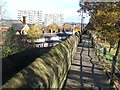 SJ4066 : Chester City Wall by Malc McDonald