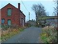 SD9709 : Slackgate Lane at Delph Slack by Alexander P Kapp