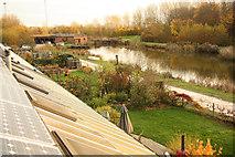 SK7156 : Hockerton Housing Project by Richard Croft