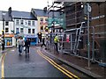 H4572 : Scaffolding along Scarffes Entry, Omagh by Kenneth  Allen