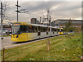 SJ8497 : East Manchester Extension to Metrolink by David Dixon