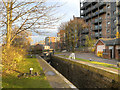SJ8798 : Ashton Canal, Lock 7 by David Dixon