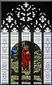 TQ1472 : All Saints, Campbell Road - West window by John Salmon