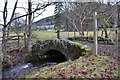NT2640 : Bridge over the Soonhope Burn, Peebles by Jim Barton