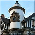 SJ8990 : Top of the White Lion by Gerald England