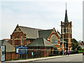 TQ4587 : Seven Kings Methodist church by Robin Webster