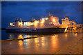 HU4642 : MV Hrossey at Holmsgarth pier, Lerwick : Week 48