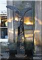 NT2473 : Millennium Milepost by Anne Burgess