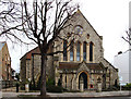 TQ1875 : Christ Church, Kew Road by John Salmon