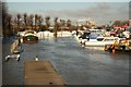 SK7853 : Newark Marina by Richard Croft