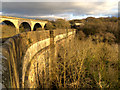 SJ9590 : Marple Aqueduct and Viaduct by David Dixon