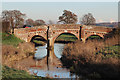 TQ7825 : Bridge over the River Rother by Oast House Archive