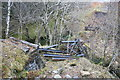 NN2478 : Remains of a Bridge on the Lochaber Narrow Gauge Railway by Doug Lee