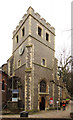 TQ1774 : St Mary Magdalene, Richmond - Tower by John Salmon