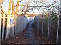 SK3532 : Pedestrian access to the Rolls-Royce Works by Ian Calderwood