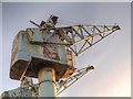 SJ8197 : Quays Crane by David Dixon